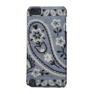Light Blue Paisley iPod Touch 5g Barely There iPod Touch (5th Generation) Case