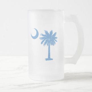 Light Blue Palmetto Mug