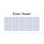 Light Blue Pattern Business Card Template