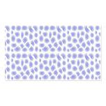 Light Blue Pattern Business Cards