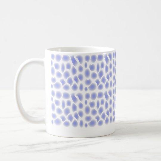 Light Blue Pattern Coffee Mug