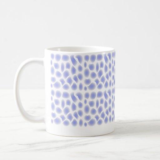 Light Blue Pattern Coffee Mugs