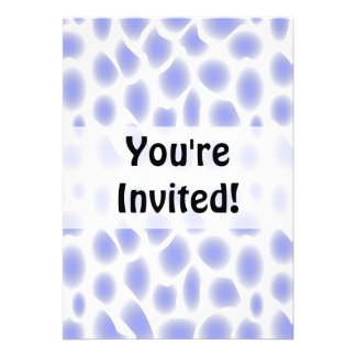 Light Blue Pattern Personalized Invite
