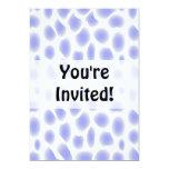 Light Blue Pattern Personalized Invite