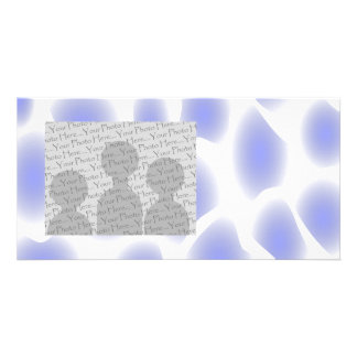 Light Blue Pattern. Picture Card