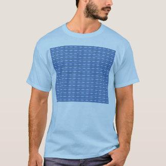 light blue pattern T-Shirt