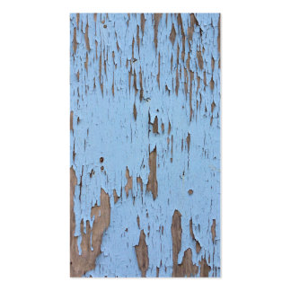 Light Blue Peeling Paint Double-Sided Standard Business Cards (Pack Of 100)