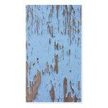 Light Blue Peeling Paint Business Card Templates