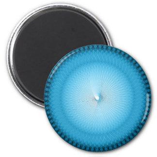 Light Blue Plafond 2 Inch Round Magnet