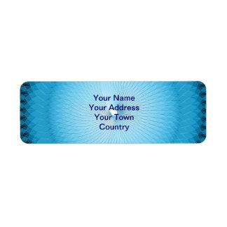 Light Blue Plafond Label