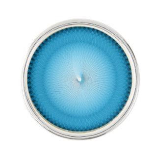 Light Blue Plafond Lapel Pin