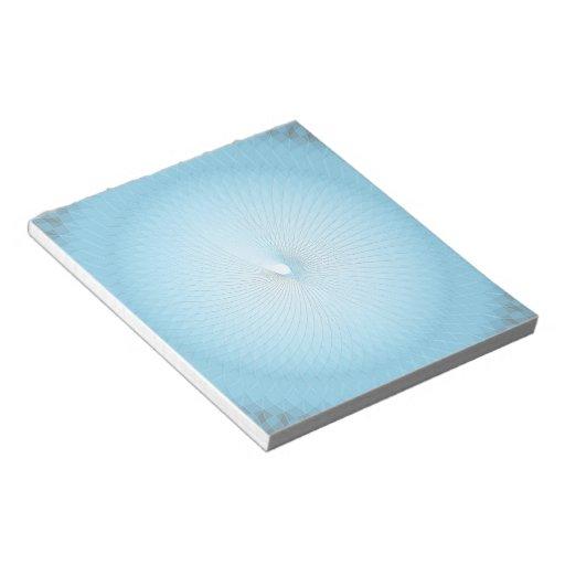Light Blue Plafond Memo Notepads
