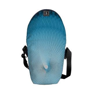 Light Blue Plafond Messenger Bag