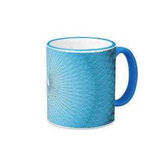 Light Blue Plafond Coffee Mugs