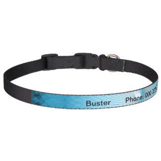Light Blue Plafond Pet Collar