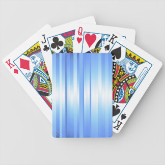 Light Blue Plaid Bicycle Playing Cards