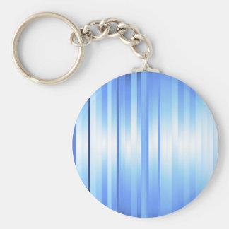 Light Blue Plaid Keychain
