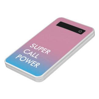 Light blue power power bank