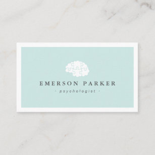 Psychologist Business Cards Business Card Printing Zazzle
