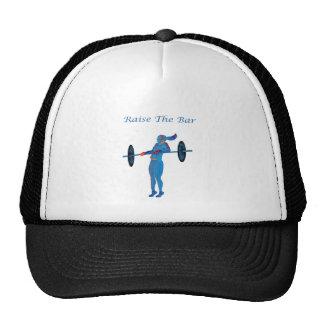 Light Blue Raise The Bar t-shirt and accessories Trucker Hat