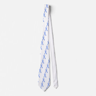 Light Blue Ribbon Neck Tie