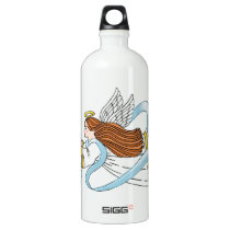 """Light Blue Ribbon"" of Awareness Water Bottle"