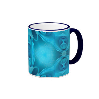 Light Blue Roses Coffee Mug