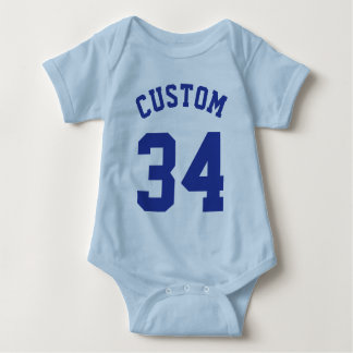 Light Blue & Royal Baby | Sports Jersey Design Shirt