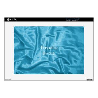 "Light Blue Satin-Vinyl Laptop Skin, 15in 15"" Laptop Decal"