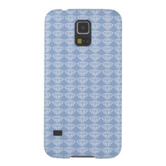 Light blue seamless pattern design cases