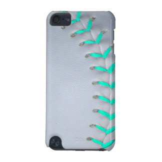 Light Blue Softball / Baseball iPod Touch (5th Generation) Case