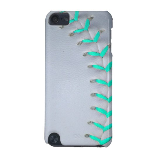 various colors 5cd8f 2ac65 Light Blue Softball / Baseball iPod Touch (5th Generation) Case