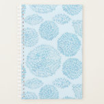 "Light Blue Spots Cute Pattern Planner<br><div class=""desc"">This Item Is A Great Gift For Friends And Family! More Pattern Designs In My Store! Take A Look Around!</div>"