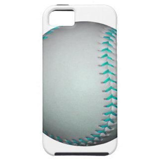 Light Blue Stitches Baseball / Softball iPhone 5 Cover
