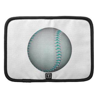Light Blue Stitches Baseball / Softball Organizer