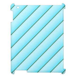 Light Blue Stripe Cover For The iPad 2 3 4