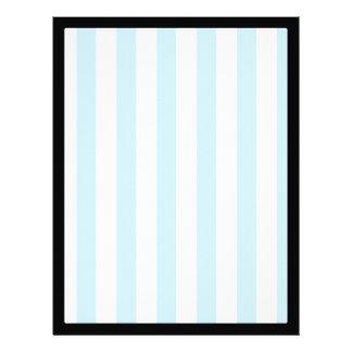 Light Blue Stripes (Add 2nd Color) Letterhead