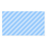 Light Blue Stripes. Double-Sided Standard Business Cards (Pack Of 100)