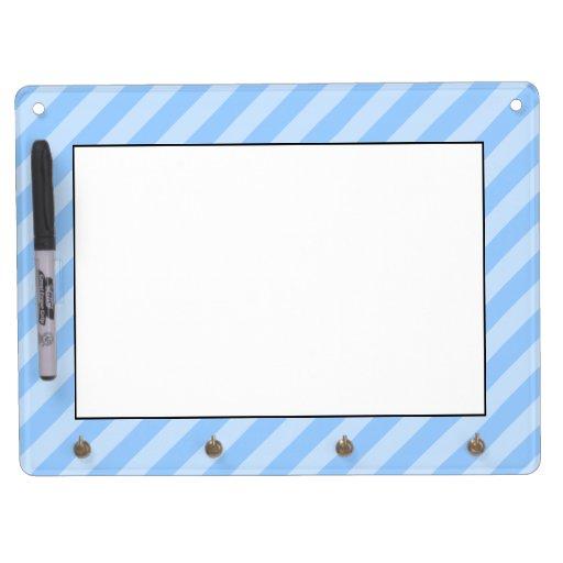 Light Blue Stripes. Dry-Erase Whiteboards
