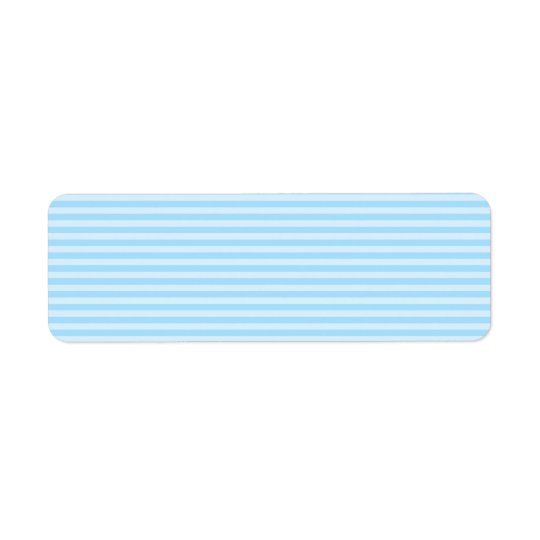 Light Blue Stripes. Label