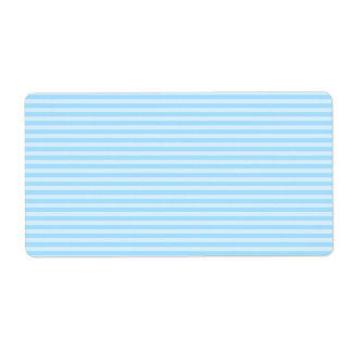 Light Blue Stripes. Label