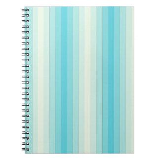 Light Blue Stripes Journals