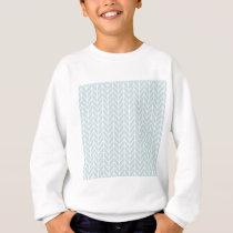 light blue stripes pattern sweatshirt