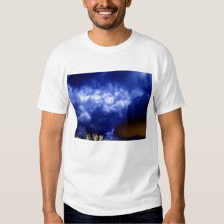 Light Blue Surreal Storm Front by KLM T Shirt