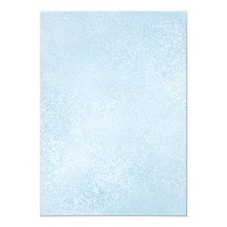 Light Blue Swirls Blank Printable Paper Card