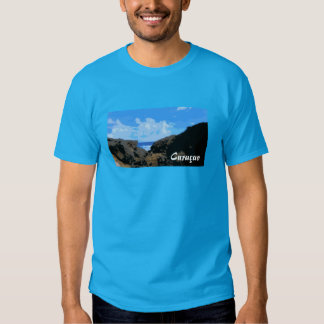 Light Blue T-shirt Curacao Boca Tabla.