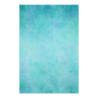 Light Blue Teal Aqua Watercolor Paper Colorful Poster