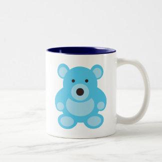 Light Blue Teddy Bear Mugs