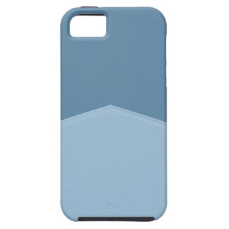 Light blue two toned point iPhone SE/5/5s case