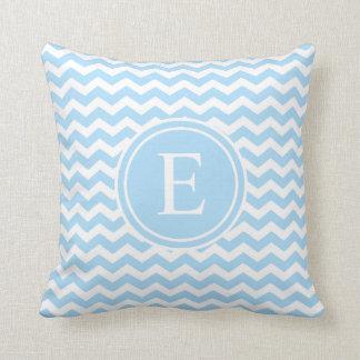 Light Blue And White Pillows - Decorative & Throw Pillows Zazzle